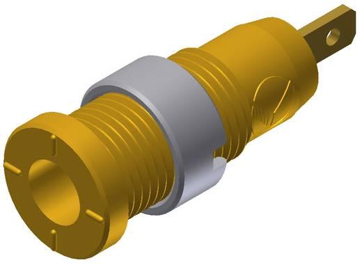 Biztonsági hüvely sárga MSEB 2610 2 mm