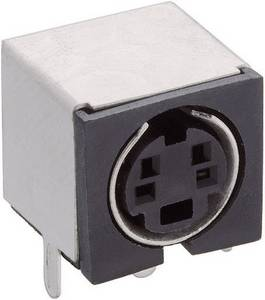 Mini beépíthető hüvely Pólusszám=4 TM 0508 A/4 Lumberg Lumberg