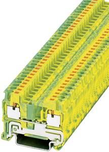 Háromszintű PT 2,5-PE védővezetői csatlakozó PT 2,5-PE Phoenix Contact Zöld/Sárga Tartalom: 1 db Phoenix Contact