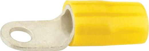 Szigetelt gyűrűs forrfülek, sárga, Ø 4.3
