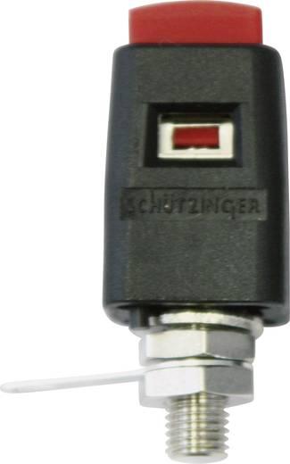 Beépíthető gyorsan oldható kivezetés Piros 16 A, szigetelés nélkül