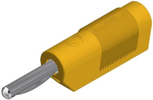 Banándugó VSB 20 4 mm Sárga Csatlakozó (speciális)=csavarozás VSB 20 SKS Hirschmann