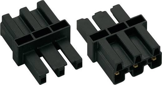 Hálózati köztes alj, pólusszám: 3, fekete, WAGO 770-6031 db