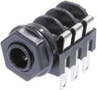 Beépített jack csatlakozóaljzat 6,35 mm Beépíthető hüvely Pólusszám=6 NMJ6HC-S Neutrik (NMJ6HC-S) Neutrik