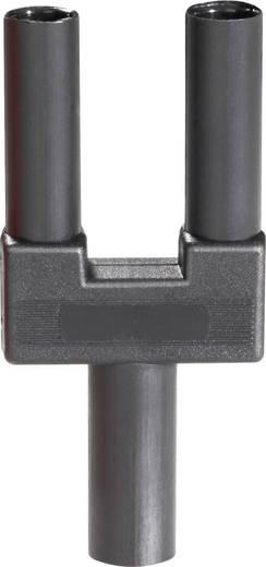 Rövidzár dugó, 4 mm, fekete
