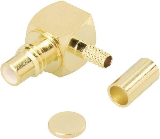 BKL Electronic SMC krimpelhető könyök csatlakozó dugó, réz, aranyozott, 414 040