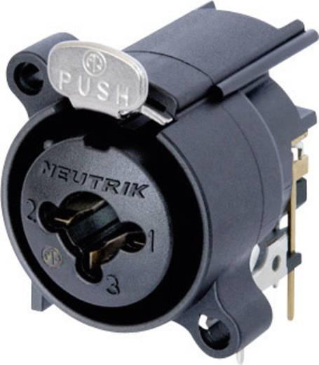 Neutrik combo XLR/Jack beépíthető alj, 7 pól., NCJ 6 FA-H