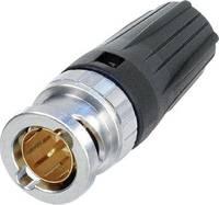RearTwist® BNC dugó, krimpelhető, egyenes, nikkelezett PA6, NBNC 75 BTU 11 (NBNC75BTU11) Neutrik
