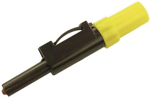 Labor csatlakozódugó SLS 10 B 4 mm Sárga Csatlakozó (speciális)=Forrasztás SLS 10 B SKS Hirschmann