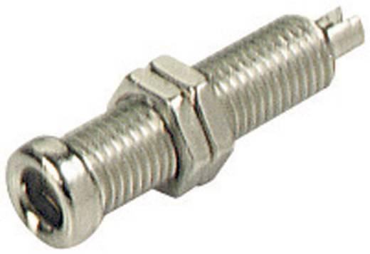Csatlakozóhüvely, szigeteletlen, 4 mm üres BU 20 Nikkelezett BU 20 SKS Hirschmann