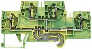 Többszintes sorkapocs, fázis WKFN 4 E/SL/35 Wieland Zöld/Sárga Tartalom: 1 db Wieland