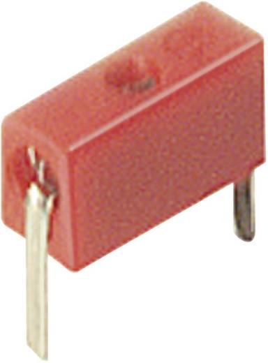 Forrasztható miniatűr ellenőrző aljzat piros MPB 1 60 V/DC 6 A SKS Hirschmann