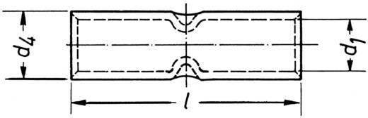 Ütközős összekötő 0.75 mm² Szigetelés nélkül Fémes Klauke 17R 1 db