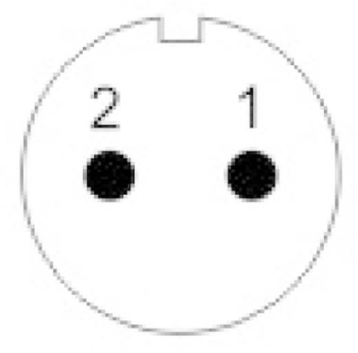 IP68 védettségű csatlakozók, SP13 sorozat Pólusszám: 2 In-Line dugó 13 A SP1311 / P 2 I Weipu 1 db