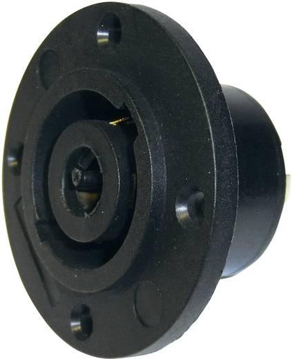 Hangszóró csatlakozó peremes hüvely, egyenes érintkezők pólusszám: 8 fekete Cliff FM1285 1 db