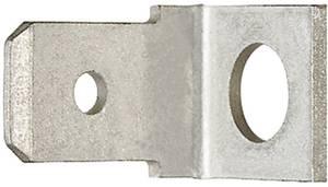 Dugaszoló csúszósaru, 6,3 mm / 0,8 mm 90° szigeteletlen, fémes Klauke 2105 Klauke