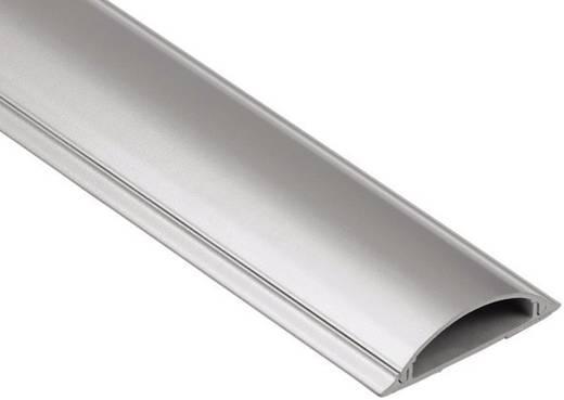 Fali kábelcsatorna, félgömbölyű, ezüst színű Hama 83160