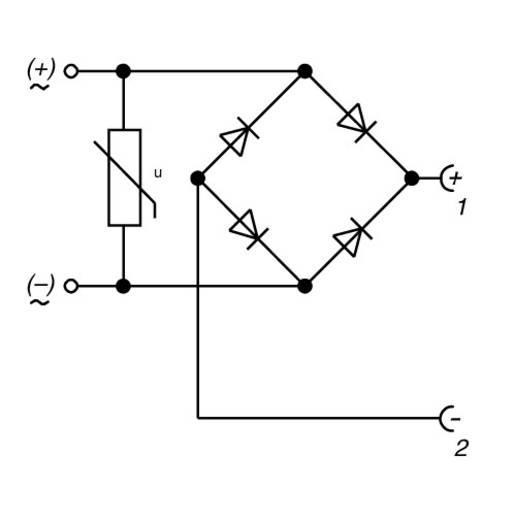 Elektronikus betét a GDME csatlakozóhoz, tartalom: 1 db, Hirschmann GDME GB 1
