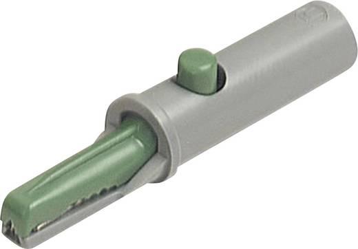 Befogó érintkező 4mm, zöld