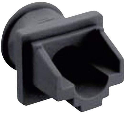 Sapka RJ45 csatlakozó dugóhoz, fekete, Lumberg 2533 01