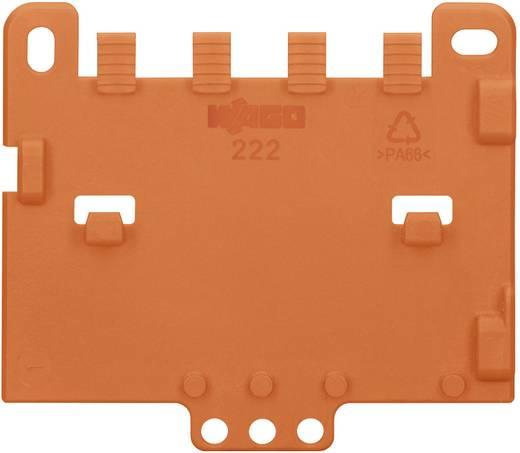 Kihúzásgátlólap, narancs, WAGO 222-505