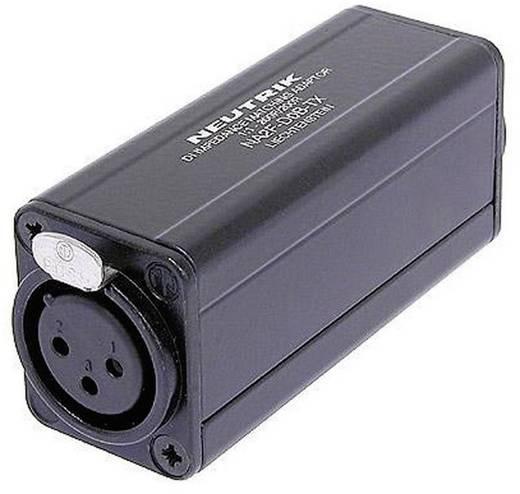 XLR adapter XLR alj - RCA alj, Neutrik NA2F-D0B-TX, 1 db