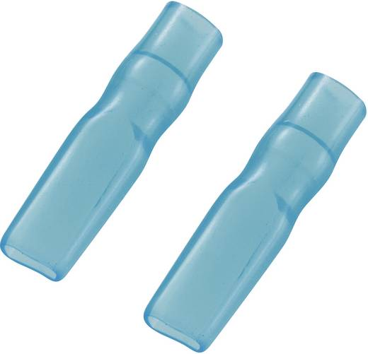 Szigetelő hüvely 2,8 mm kék