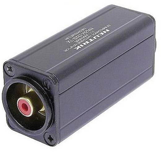XLR adapter XLR alj - RCA alj, Neutrik NA2F-D2B-TX, 1 db