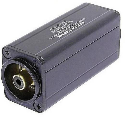 XLR adapter XLR dugó - RCA alj, Neutrik NA2M-D0B-TX, 1 db
