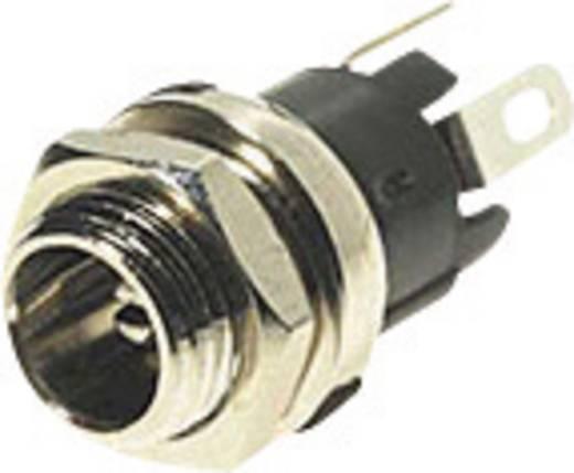 Kisfeszültségű tápcsatlakozó alj, beépíthető, függőleges 5,5 x 2,5 mm Cliff SCD-026A