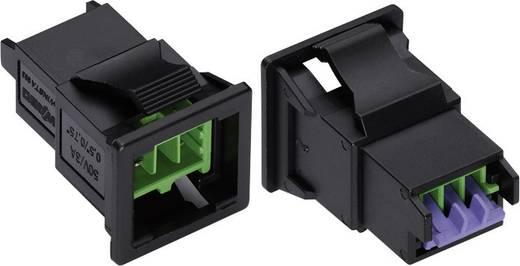 Hálózati csatlakozó dugó, egyenes, pólusszám: 2 3 A, zöld WAGO 893-2012