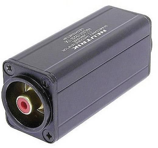 XLR adapter XLR dugó - RCA alj, Neutrik NA2M-D2B-TX, 1 db
