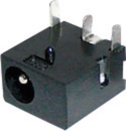 Cliff tápegységbe építhető DC hüvely, nyákba forrasztós, 5,5x1,3x2,5 mm, FC68145