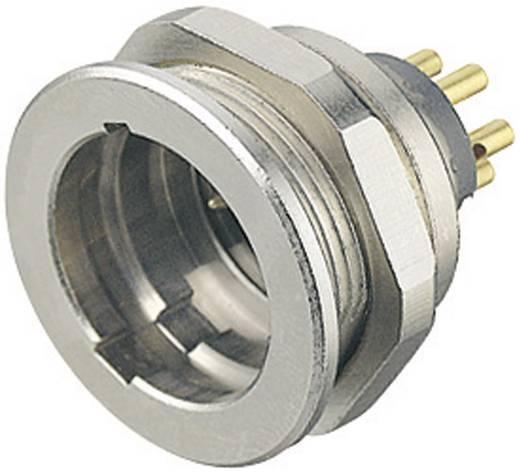 Miniatűr kerek dugaszolható csatlakozó 440-es sorozat Pólusszám: 6 DIN Peremes dugó 5 A 09-4819-15-06 Binder