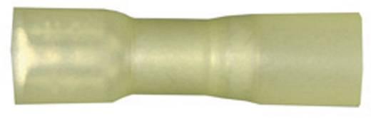 Lapos csúszósaru hüvely zsugorcsővel 6,3 x 0,8 mm, szigetelt, sárga, vízálló, Vogt Verbindungstechnik 3967h
