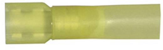 Csúszósarus hüvely dugó szélesség: 6.3 mm dugó vastagság: 0.8 mm eljesen szigetelt Sárga Vogt Verbindungstechnik 3967sh
