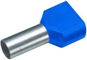 Szigetelt iker érvéghüvely, 2x2,5 mm² x 13 mm, kék, 100 db, Cimco Werkzeugfabrik 18 2446 Cimco