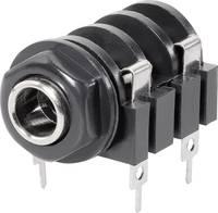 6,3 mm-es jack aljzat, mono, Tru Components 1578875 TRU COMPONENTS