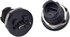 Mini USB 2.0 beépíthető csatlakozóaljzat IP67 Conec 17-250001 Conec