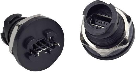 Mini USB 2.0 beépíthető csatlakozóaljzat IP67 Conec 17-250001