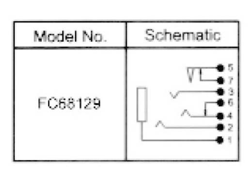 Cliff beépíthető 3,5 jack hüvely, 4 pól., FC68129