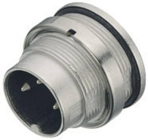Miniatűr kerek dugaszolható csatlakozó, 723-as sorozat Pólusszám: 3 DIN Peremes dugó 7 A 09-0107-80-03 Binder