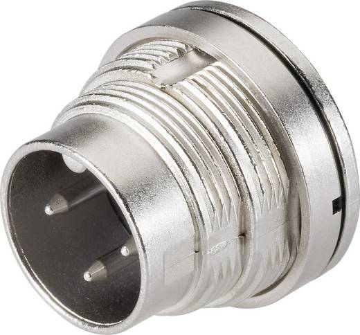 Miniatűr kerek dugaszolható csatlakozó, 723-as sorozat Pólusszám: 6 DIN Peremes dugó 5 A 09-0123-80-06 Binder