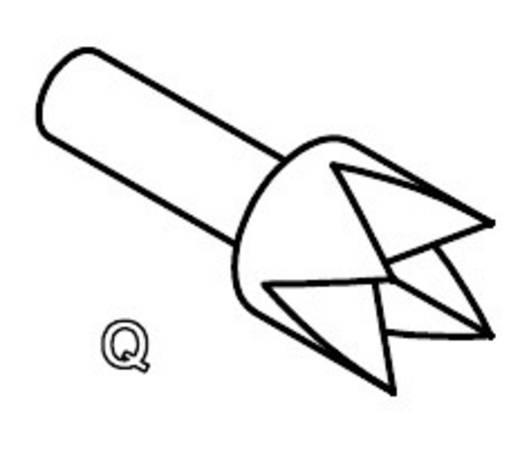 Mérőhegy, rugóérintkezős mérőtüske PTR 2021-Q-1.5N-NI-1.3