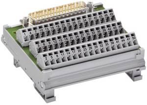 WAGO 289-540 Átviteli modul D-SUB hím fejléc Tartalom: 1 db WAGO