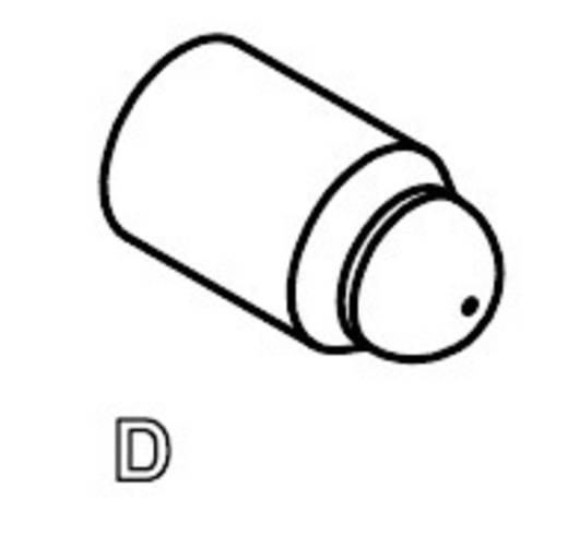 Mérőhegy, rugóérintkezős mérőtüske PTR 5099-D-2.0N-AU-1.0C