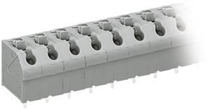 Nyáklap kapocs, 250-es sorozat 250-604CAGE CLAMP®S Raszterméret: 7 mm 17.5 A Szürke WAGO WAGO