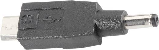 Autós töltő csatlakozó adapter mikro USB csatlakozóval telefonokhoz Voltcraft