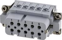 Amphenol C146 10B010 002 4 aljzatba helyezett ezüstözött érintkezők 1 db. Amphenol