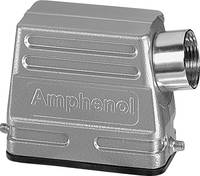 Amphenol C146 21R010 500 4 hüvelyes ház, alacsony kialakítású, Kábelkivezetés az oldalon 1 db. Amphenol